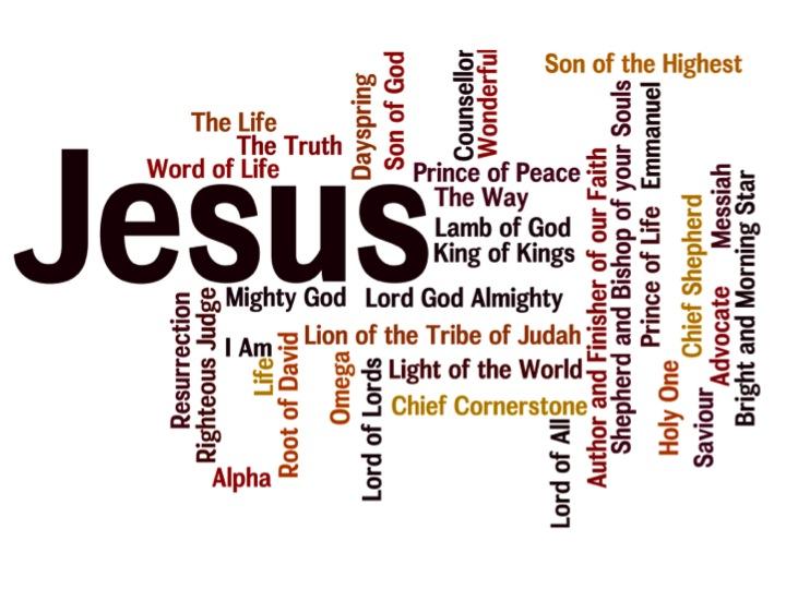 Image result for Jesus Names